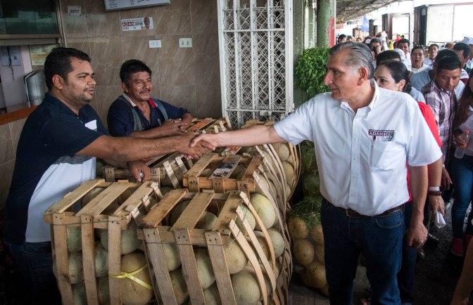Ofrece Adán modernizar Central de Abasto de Villahermosa