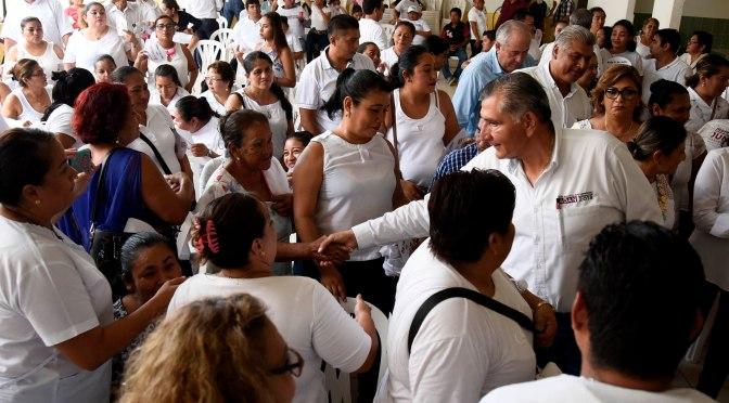 Reestructuración integral en salud, anuncia Adán Augusto