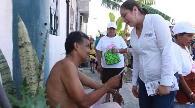Violeta Caballero, una digna representante: ciudadanos
