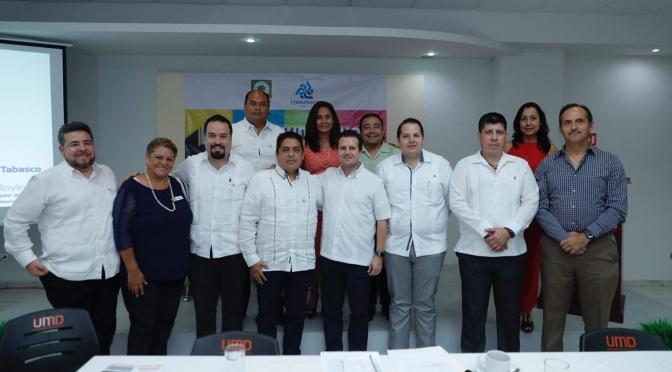 Prioridad empleo y seguridad, afirma Gaudiano Rovirosa en la COPARMEX