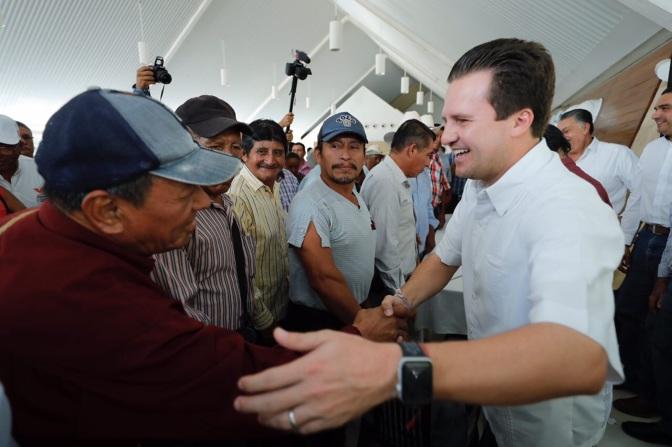 Voy a ser el gobernador del campo: Gerardo Gaudiano Rovirosa