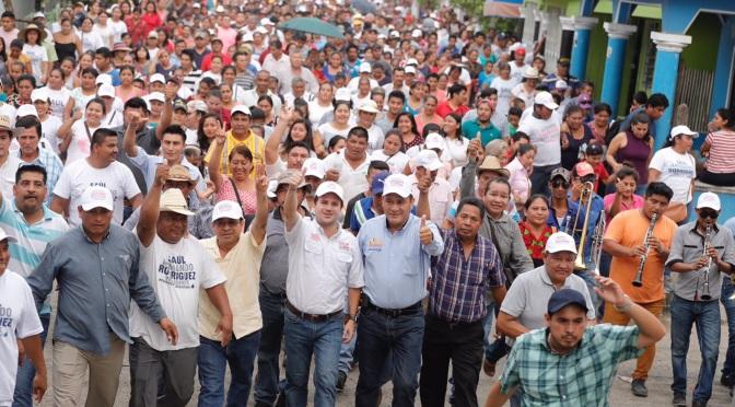 Apostará Centla y todo Tabasco por nuestro proyecto, los ciudadanos están convencidos: Gerardo Gaudiano