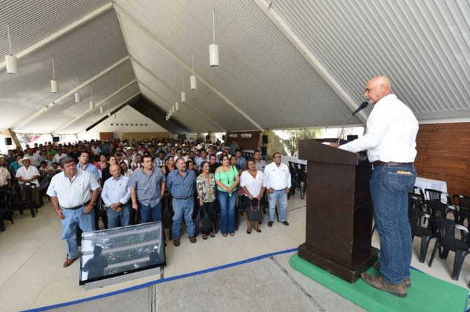 Apoyo total al campo, propone Jaime Mier yTerán
