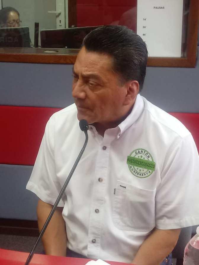 Estoy muy animado porque la gente saldrá a votar el 1 de julio: Oscar Cantón Zetina