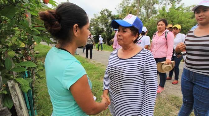 Paraíso debe basar su desarrollo en sus propias fortalezas: Anita Castellanos