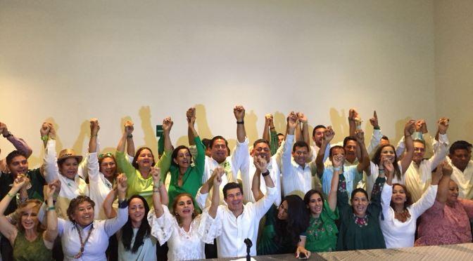 No afecta al PVEM salida de Oscar Cantón y seguimos unidos para ganar el 1 de julio: Pico Madrazo