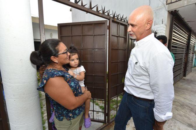 Generan aceptación propuestas de Jaime Mier y Terán entre la población de Centro