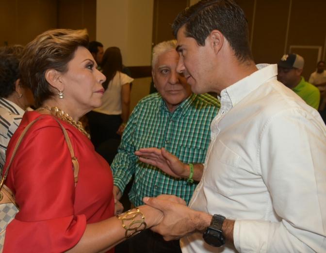 Ady García cierra filas con PVEM y su dirigente estatal Federico Madrazo