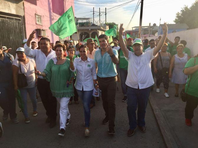 Centro será Verde con la fuerza de la gente: Pico Madrazo*