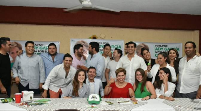 Este 1 de julio hay que votar con la razón: Ady García
