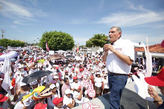 Hay que salir a votar temprano y cuidar jornada electoral: Adán Augusto