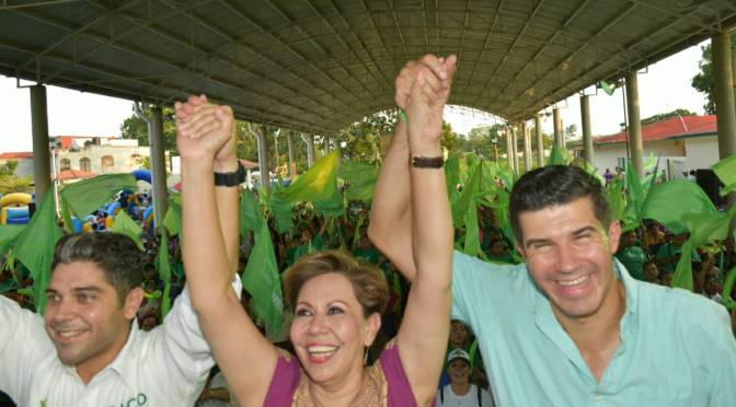 La fuerza verde está lista para llevar a  Paco y Ady al triunfo: Pico Madrazo