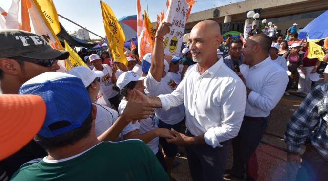 """Vamos a ganar y vamos a cumplirle a Centro"": Mier y Terán"