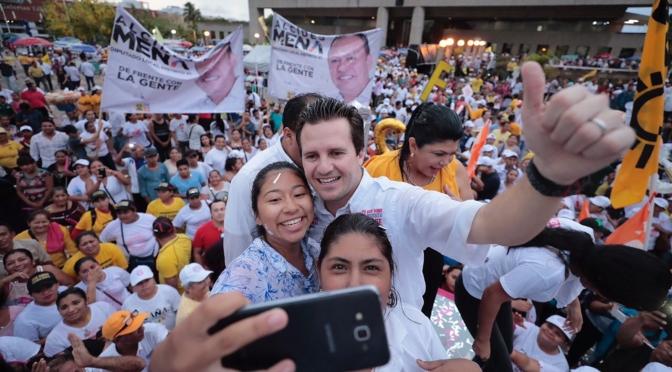 El cambio es ahora o nunca ¡Vamos a ganar!: Gerardo Gaudiano Rovirosa