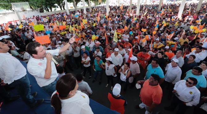 Vamos a ganar este primero de julio con el apoyo de la gente: Gerardo Gaudiano