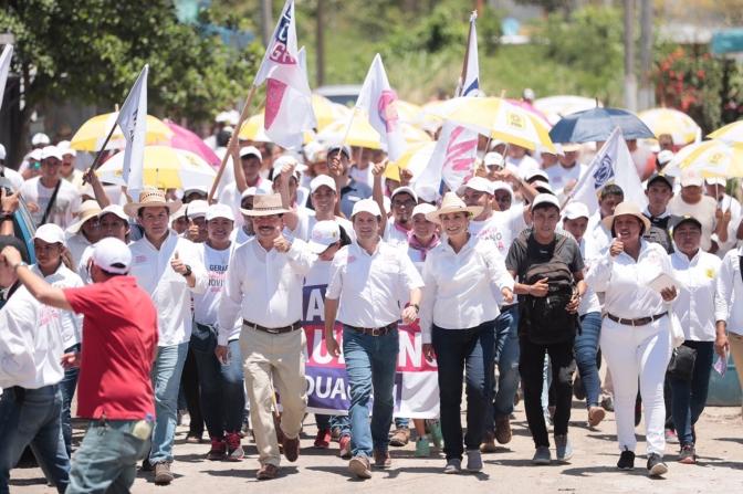 El primero de julio se dará el cambio que necesitamos, afirma Gaudiano Rovirosa