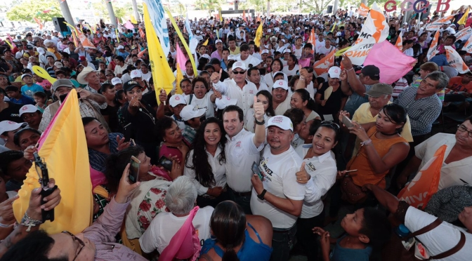 Quieren impedir los políticos tradicionales el cambio en Tabasco: Gerardo Gaudiano