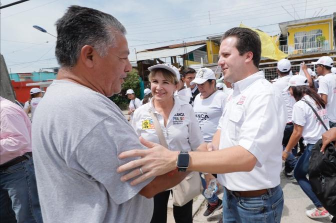 400 mil empleos para todo Tabasco durante su gobierno, compromete Gaudiano Rovirosa