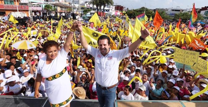 Vamos arriba y vamos a ganar: Gerardo Gaudiano en su cierre en Paraíso