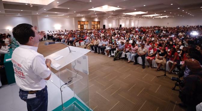 El rescate del campo y los problemas de Tabasco se resuelven aquí, afirma Gerardo Gaudiano
