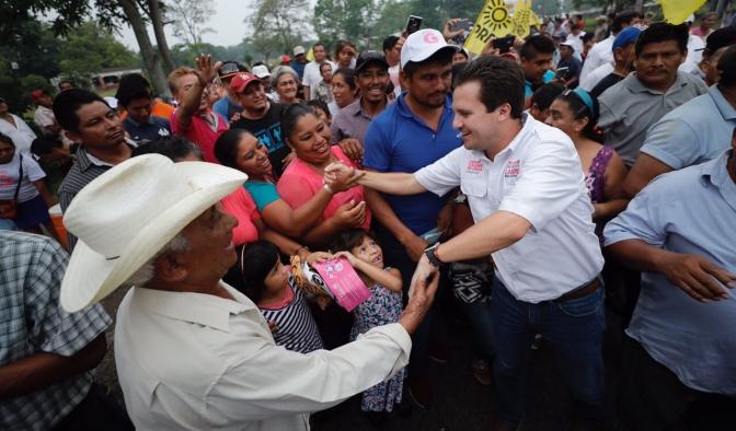 Macuspana y todo Tabasco recuperarán la paz, también habrá empleo, asegura Gaudiano Rovirosa