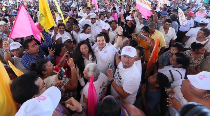 Este 1 de julio la contienda es contra Adán, no contra Andrés Manuel, afirma Gerardo Gaudiano