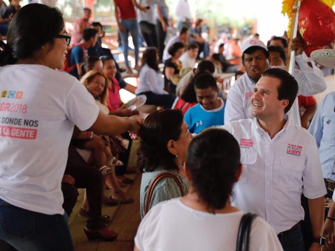 Estamos con la gente, llevamos casi mil kilómetros caminados en esta campaña: Gerardo Gaudiano