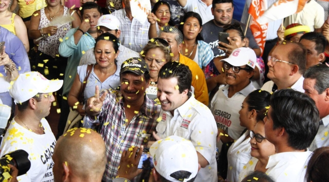 El cambio en Tabasco es esta elección, y es ahora o nunca, afirma Gerardo Gaudiano