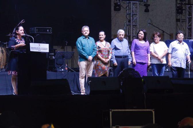Vestida de fiesta inicia Villahermosa su XVII Festival de la ciudad!