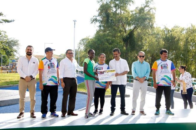 Un gran éxito el 2oMedio Maratón Villahermosa, consolidándose como una cita deportiva de alto nivel