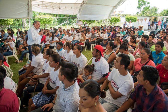 Jóvenes, protagonistas de la transformación de Tabasco y México: Adán Augusto