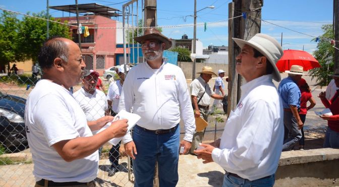Reparación de plantas de agua y construcción de una más, ofrece Evaristo Hernández