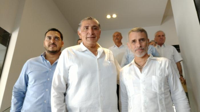 ADÁN REUNIÓN MESA DE SEGURIDAD