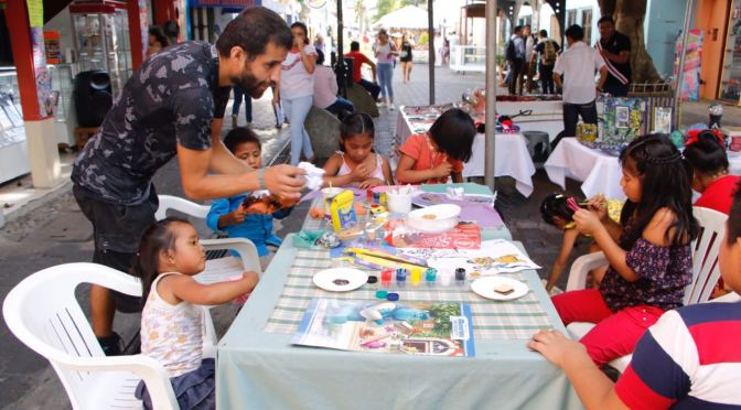 Fomenta Centro inquietud artística de los niños en laZona Luz