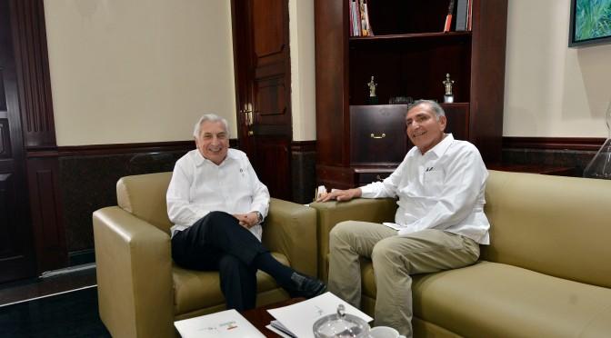Transición ordenada, pactan  Núñez y Adán Augusto López