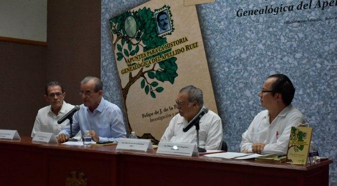 Presentan libro sobre  historia del apellido Ruiz