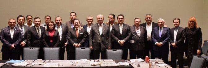 Acude Gerardo Gaudiano a sesión nacional del PRD