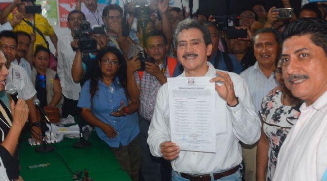 Evaristo Hernández ya es alcalde electo de Centro