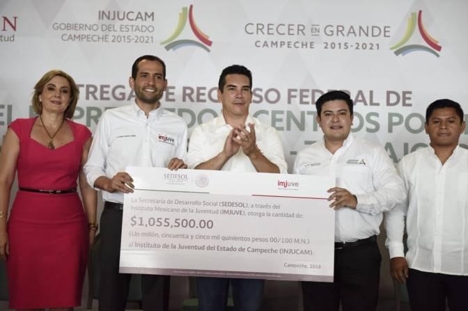 Más de un millón de pesos para proyectos juveniles en Campeche
