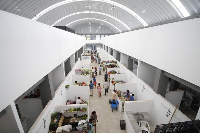 Abre sus puertas al público nuevo mercado principal de la villa Playas del Rosario
