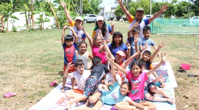 EnVerano Verdede Centro, los niños se activan físicamente y aprenden a cuidar el Medio Ambiente