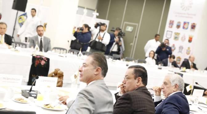 Asiste Núñez a reunión de la  CONAGO con el Presidente Electo