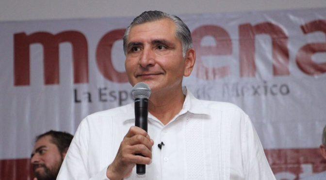 Seremos respetuosos de autonomía  del Poder Legislativo: Adán Augusto
