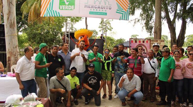 Inicia Partido Verde proyecto para apoyar a emprendedores