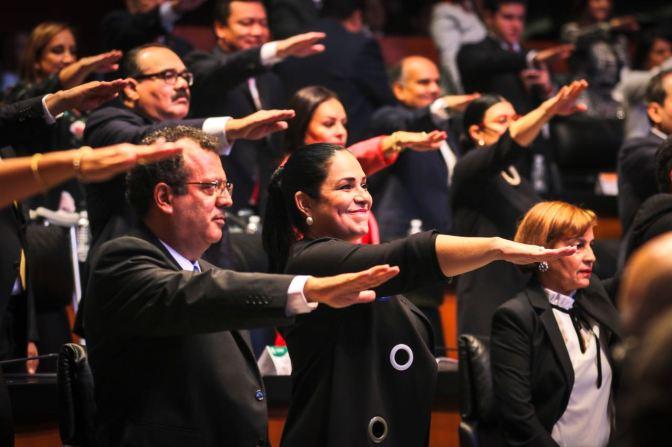 Es un honor servir a México desde el Senado: Mónica Fernández Balboa