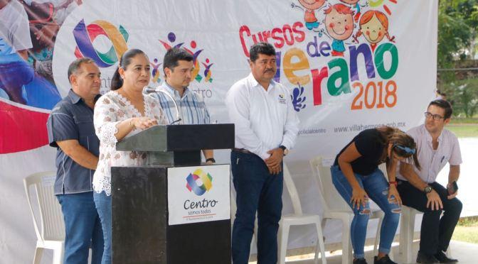 """Clausura Casilda Ruiz los """"Cursos de Verano 2018"""" en Centro"""