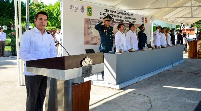 Nada ni nadie está por encima de México: Alejandro Moreno Cárdenas