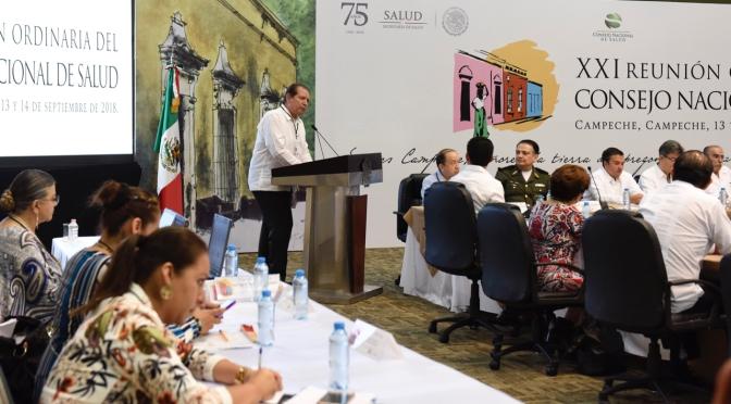 Convoca gobernador de Campeche a seguir trabajando juntos para mejorar los servicios de Salud en el país