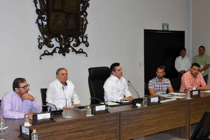 Estrechan relación gobernador de Campeche y equipo del próximo gobierno de AMLO para consolidar El Tren Maya