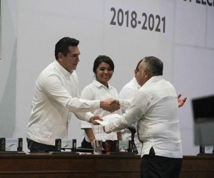 3 er informe de c.p. Ignacio España pdte el H Aytto de Hopelchen (9)